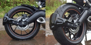 Yamaha MT-09/Tracer/XSR900 blatníček-Spray Guard  085200B